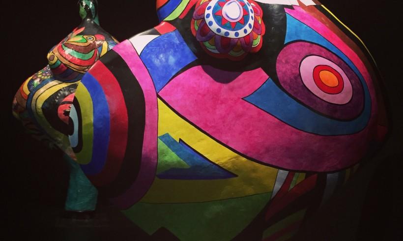 Le Grand Palais et l'expérience digitale autour de Niki de Saint Phalle